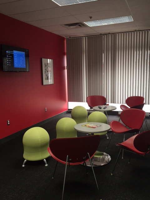 Students Can Relax In The Ottawa Campuss Modern Student Lounge