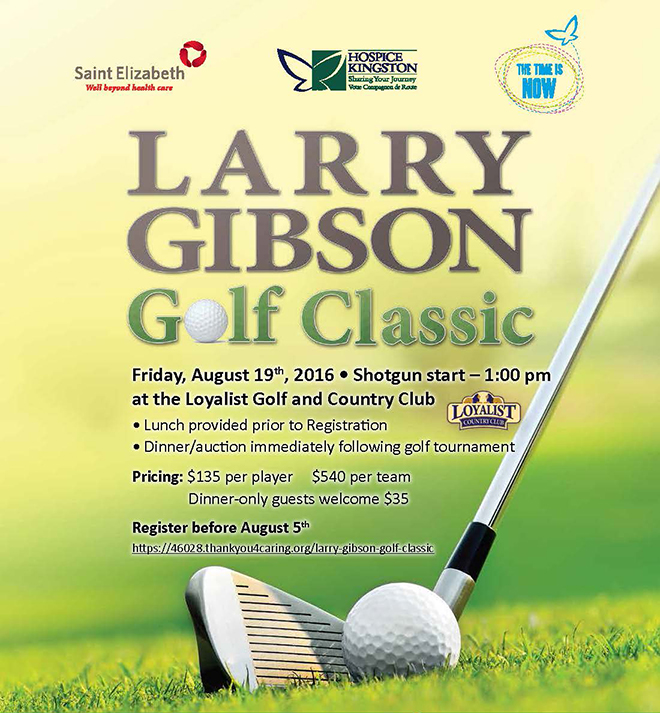 7th Annual Larry Gibson Golf Classic