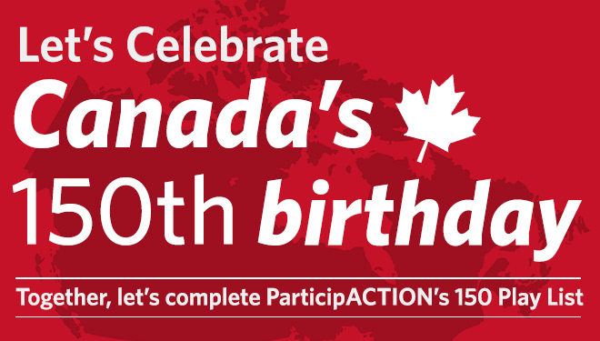 Saint Elizabeth is celebrating Canada's milestone birthday with 150 wellness acts