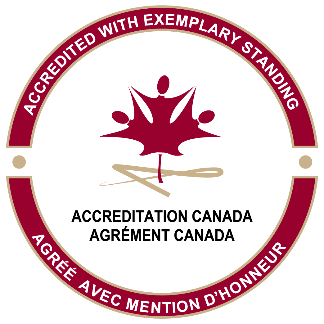 Accreditation Canada exemplary status