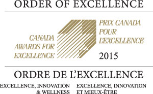 Canada Order of Excellence Award